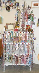 The Bead Boutique created in Sally Cezo's office